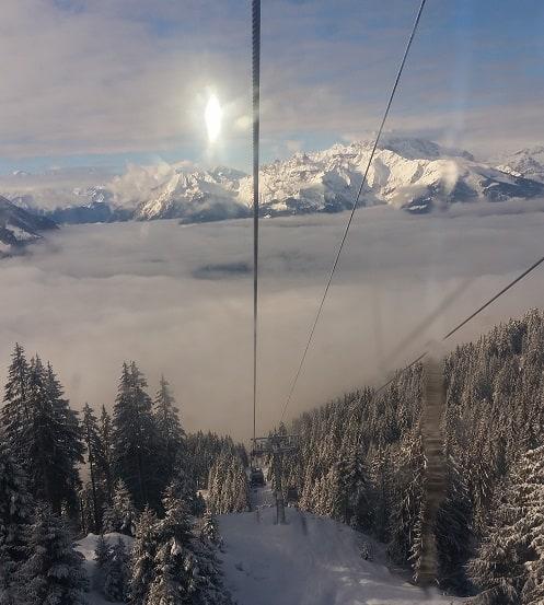 villars skiing switzerland